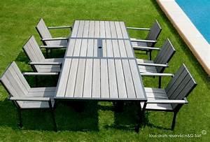 Table De Jardin En Bois Pas Cher : table salon de jardin pas cher bricolage maison et d coration ~ Teatrodelosmanantiales.com Idées de Décoration