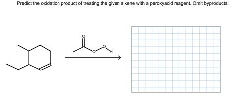 Solved Predict The Oxidation Product Of Treating The Give