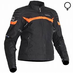Lindstrands Che Lady Textile Motorcycle Jacket Black Neon