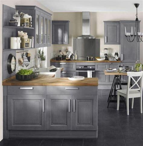 Gorgeous Grey Kitchen Design Ideas (22) Grey kitchen