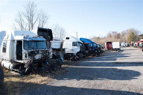 truck parts  salvage yard john story truck