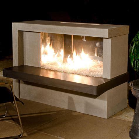 propane gas fireplace american fyre designs manhattan 59 inch outdoor propane