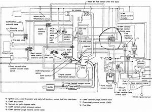 i need a detailed diagram for a 1997 nissan truck with the With line is ok the wiring wiring inside a master socket