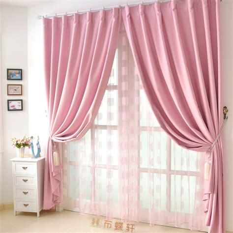 Cheap Pink Curtains Also Have Good Quality