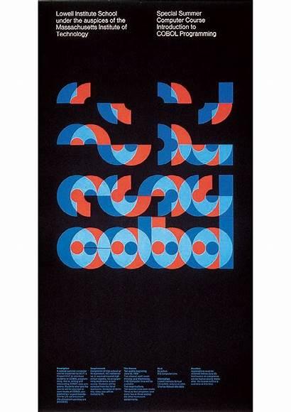 Typography Graphic Bauhaus Poster Programming
