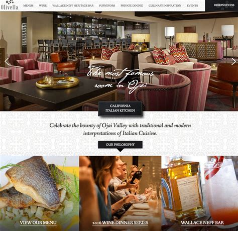 Best Site Best Restaurant Website Awards
