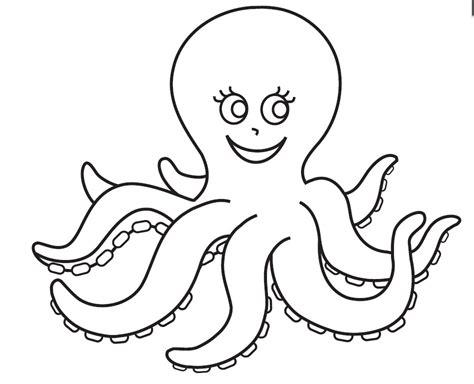 octopus coloring page octopus coloring pages preschool and kindergarten