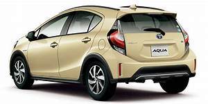 Toyota Prius C Gets Crossover Update In Japan