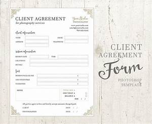 Client agreement form for photographers photography for Birth photography contract template