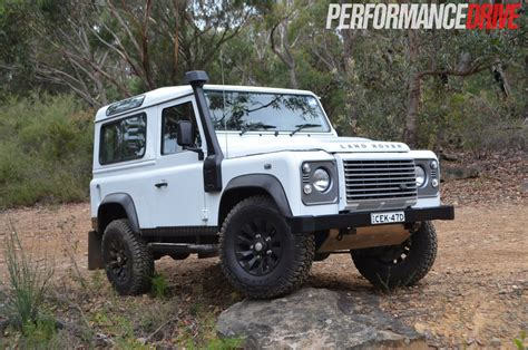 land rover defender  review performancedrive