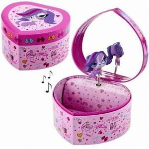 Boite A Bijoux Enfant : boite bijoux pour enfant my littlest pet shop en forme de coeur cavacado ~ Teatrodelosmanantiales.com Idées de Décoration
