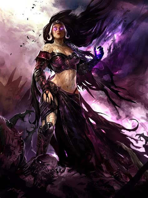 Angel 07 Deck by Liliana Vess Planeswalker Magic The Gathering Related Arts
