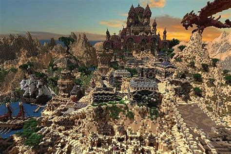 kingdom  azerian oriental capital minecraft building