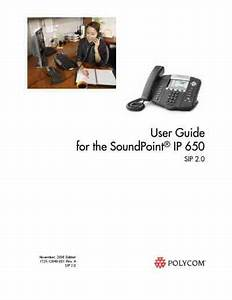 Polycom Soundpoint Ip 650 Sip Mobile Phone Download Manual