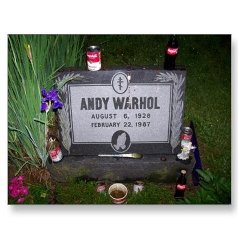 is bobby helms death andy worhol famous graves pinterest warhol andy