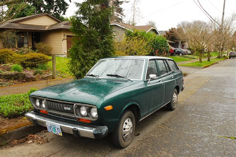 Datsun 710 Wagon by Parked Cars 1974 Datsun 710 Wagon