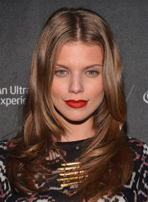 center parted formal long wavy hairstyle annalynne mccord hairstyle hairstyles weekly