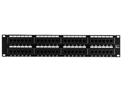 Monoprice Cat Enhanced Patch Panel Type Port