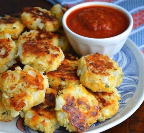 recette cuisine vegetarienne croquettes de chou fleur au parmesan avec thermomix