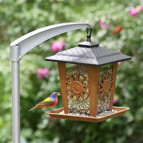 pole to hang bird feeder birdcage design ideas