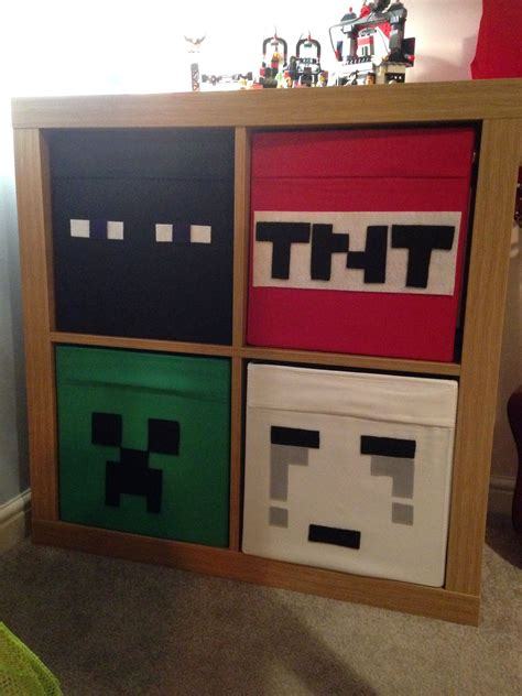 Minecraft Bedroom Drawers Love Ikea Hacks Minecraft