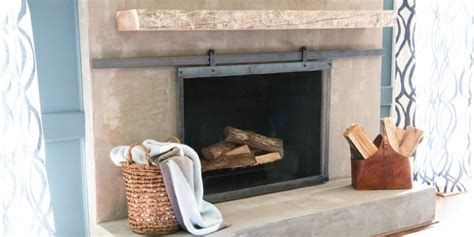 Remodelaholic How To Install A Wood  Ee  Mantel Ee   On A Masonry