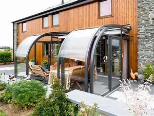Abri De Terrasse Coulissant : abri de terrasse coulissant et veranda retractable ~ Dode.kayakingforconservation.com Idées de Décoration