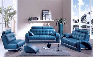 blue couches decor for living room With blue sofa living room design