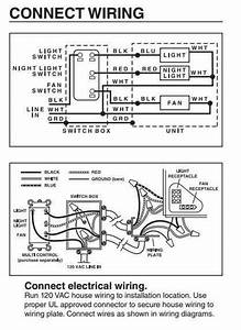 All Exhaust Fan Wiring Diagram House