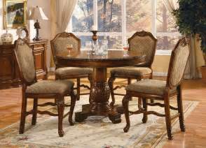 Counter Height Dining Room Sets Chateau De Ville 5 Pc Counter Height Dining Set Dining Room Af 04082 04084 6
