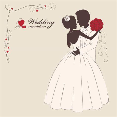 wedding invitation   vector graphic