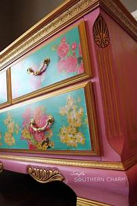 58 best restauracion muebles images on pinterest With what kind of paint to use on kitchen cabinets for lilly pulitzer stickers