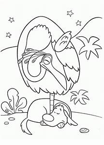 Kevin The Bird And Dug The Dog In Disney Up Coloring Page ...