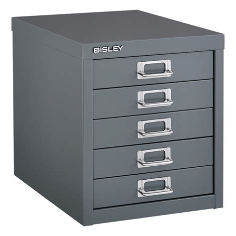 Bisley 5 Drawer Cabinet by Drawer Cabinet Bisley Graphite 5 Drawer Cabinet The