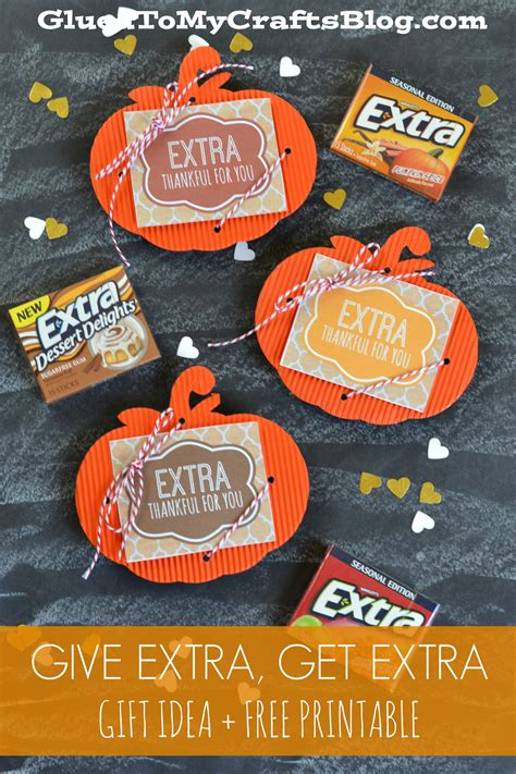 give extra  extra gift idea  printable