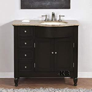 Bathroom Vanity With Center Sink by 38 Quot Bathroom Single Vanity Center Sink Cabinet 902tr