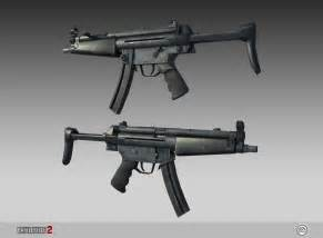 Submachine MP5 Assault Rifle