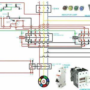 Magnetic Starter Single Phase Motor Wiring Diagrams