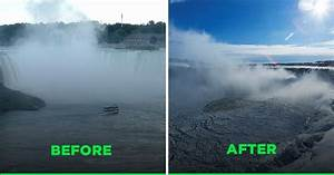 These Before And After Pictures Of The Effects Of Climate ...