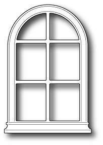 Poppystamps Dies, Small Madison Arched Window | KNK