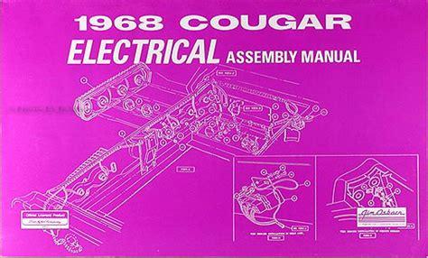 Mercury Cougar Wiring Diagram Original