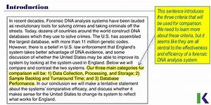 Transition Words For Contrast Analyzing Compare And Contrast Essays Dna Profiling