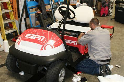 Espn Golf Cart Wrap