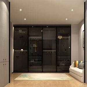7, Latest, Modern, Bedroom, Cupboard, Design, With, 3d, Views