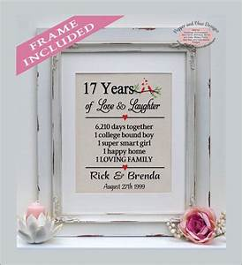 17 best images about anniversary gifts on pinterest 5 With 17th wedding anniversary gift
