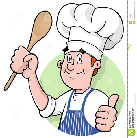 cuisiner de a à z chef logo stock vector illustration of gourmet