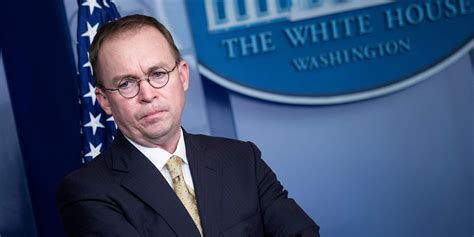 'I can't stay': Mick Mulvaney, Melania Trump's chief of ...
