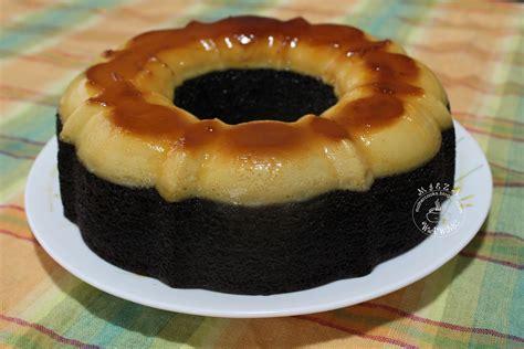 The Scarlet Apron: Kek Coklat Puding Karamel