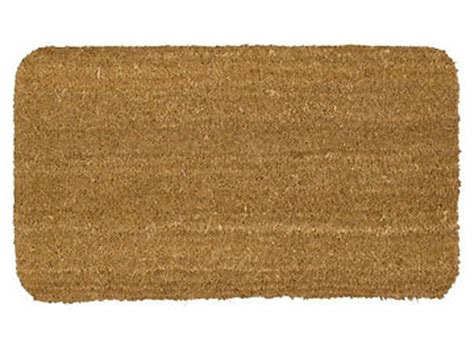 Plain Coir Doormat by Door Mat Nayland Plain Coir No1 60 X 35cm Plain Door Mats