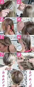 Braided easy hairstyles